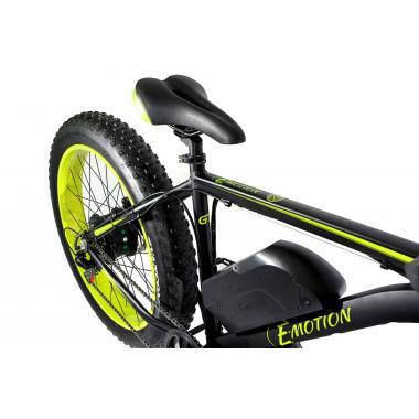 Электровелосипед E-motion Fatbike GT 48v 17,5Ah 1000W c гидравлическими тормозами чёрно-жёлтый