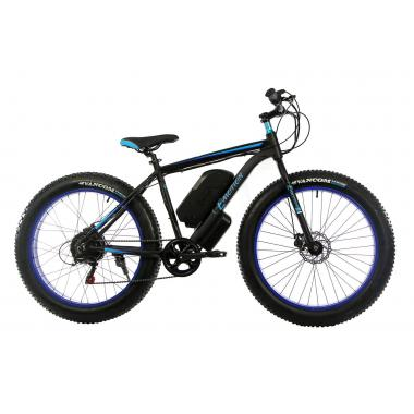 Электровелосипед E-motion Fatbike GT 48v 17,5Ah 1000W c гидравлическими тормозами чёрно-синий