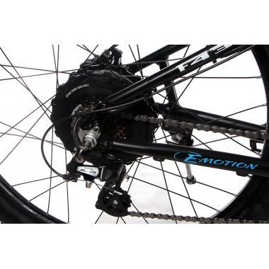 """Электровелосипед E-motion 48V 17,5Ah 700W / алюминиевая рама 19"""" серо-красный"""