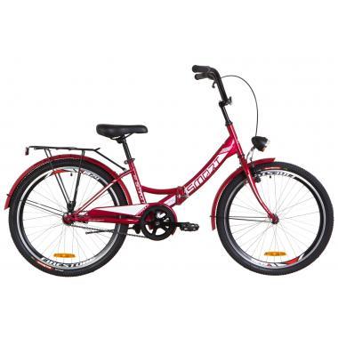 """Велосипед 24"""" Formula SMART 14G тормозная St с багажником зад St, с крылом St, с фонарём 2019"""
