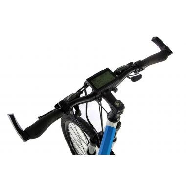 """Электровелосипед складной E-motion 36V 18Ah 500W / алюминиевая рама 17"""" бело-голубой"""
