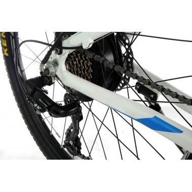 """Электровелосипед складной E-motion 36V 12Ah 500W / алюминиевая рама 17"""" серо-оранжевый"""