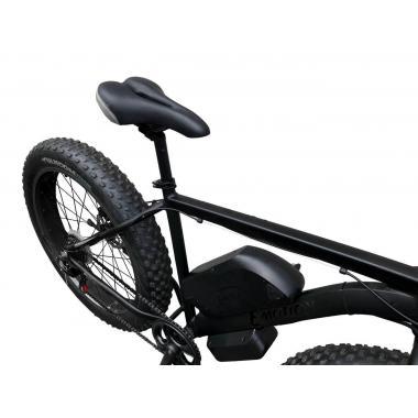 Электровелосипед передний привод E-MOTION FATBIKE GT 48V 16AH 750W FRONT чёрный матовый