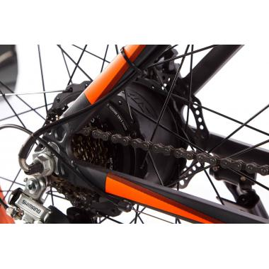 Электровелосипед E-motion Fatbike GT 48V 16Ah 1000W серо-оранжевый
