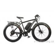 Электрофэтбайк E-motion Fatbike 48V 1000 Вт черный