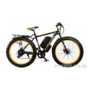Электрофэтбайк E-motion Fatbike 48V 1000 Вт черно-желтый