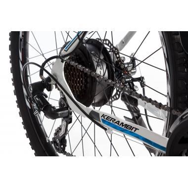 "Электровелосипед Kerambit 26"" 17"" 36V 14Ah 500W бело-голубой"