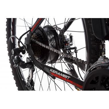 """Электровелосипед Kerambit 26"""" 17"""" 36V 14Ah 500W чёрно-красный"""