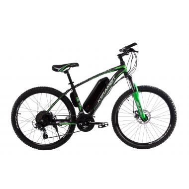 """Электровелосипед Kerambit 26"""" 17"""" 36V 14Ah 500W чёрно-зелёный"""