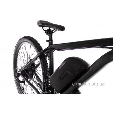 """Электровелосипед E-motion MTB 29 GT 48V 16Ah 700W / рама 19"""" чёрный матовый"""