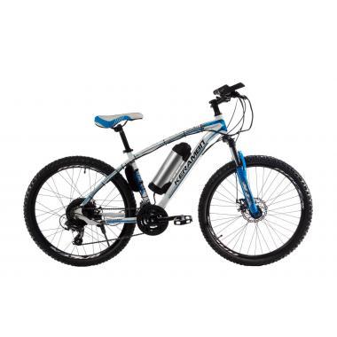 "Электровелосипед Kerambit 26"" 17"" 36V 10Ah 500W бело-голубой"