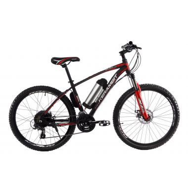 """Электровелосипед Kerambit 26"""" 17"""" 36V 10Ah 500W чёрно-красный"""