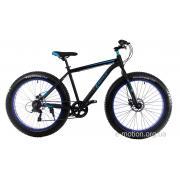 "Велосипед E-motion Fatbike GT 26"" / рама 19"" чёрно-синий"