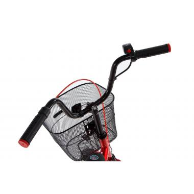 """Складной электровелосипед Formula Smart передний привод с заниженной рамой 24"""" 15"""" красный"""