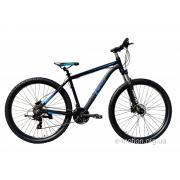 """Велосипед горный E-motion MTB29 GT / рама 19"""" чёрно-синий"""