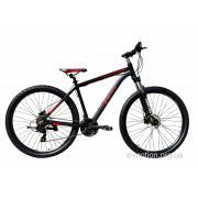 """Велосипед горный E-motion MTB29 GT / рама 21"""" чёрно-красный"""
