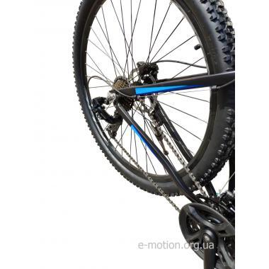 """Велосипед горный E-motion MTB29 GT / рама 21"""" чёрно-синий"""