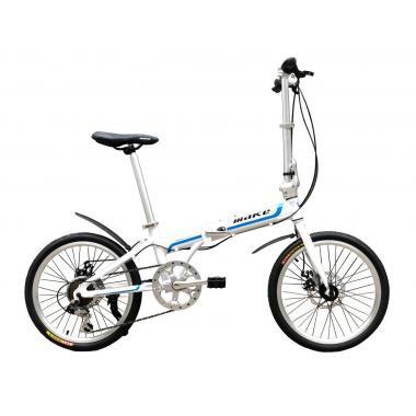 "Велосипед складной Make bike 20"" / рама 17"" белый"