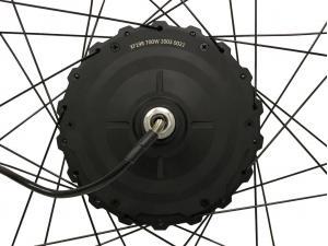 Мотор-колесо редукторное MXUS GDR-19R 48V 700W заднее, заспицованное