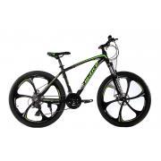 """Велосипед на литых дисках MTB2 26"""" зеленый"""