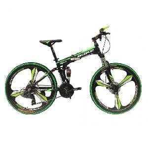Складные велосипеды<br> на литых дисках