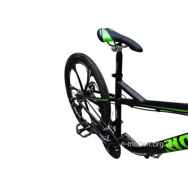 """Велосипед RIOT на литых дисках 26"""" / рама 18"""" чёрно-зеленый"""