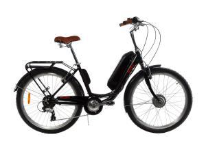 Электровелосипед женский RUBY 36V 14AH 350W передний привод черный