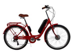 Электровелосипед женский RUBY 36V 14AH 350W передний привод красный