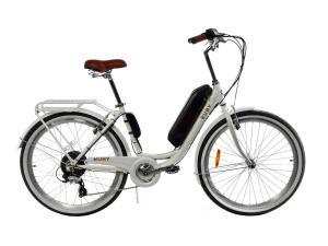 Электровелосипед женский RUBY 36V 14AH 500W белый