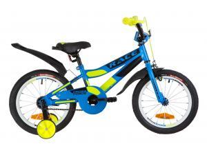 """Велосипед 16"""" Formula RACE усилен. St с крылом Pl 2019 (голубой с зеленым)"""
