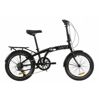 """Велосипед 20"""" Dorozhnik ONYX складной 2020 (черный)"""
