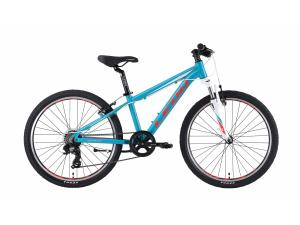 "Велосипед 24"" Leon JUNIOR AM 14G Vbr Al 2019 бирюзовый"