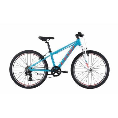 """Велосипед 24"""" Leon JUNIOR AM 14G Vbr Al 2019 бирюзовый"""