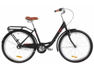 "Велосипед 26"" Dorozhnik RUBY планет. 2020 (черный)"