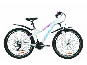 """Велосипед 26"""" Formula ELECTRA 15 2020 бело-голубой с сиреневым (м)"""