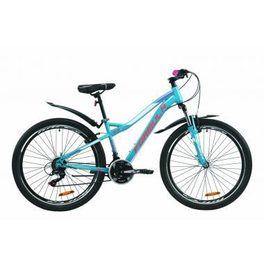 """Велосипед 26"""" Formula ELECTRA 15 2020 бирюзовый (м)"""