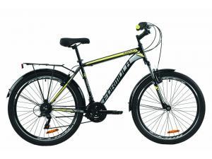 """Велосипед 26"""" Formula MAGNUM 2020 (черно-серый с желтым)"""