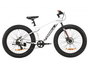 """Велосипед AL 26"""" Formula PALADIN DD 2020 (бело-серый с оранжевым)"""