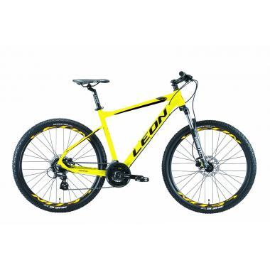 """Велосипед 27.5"""" Leon XC-80 AM Hydraulic lock out 14G HDD Al 2019 желтый"""