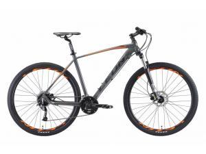 """Велосипед 29"""" Leon TN-70 AM Hydraulic lock out 14G HDD Al 2019 серо-оранжевый"""