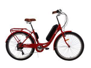 Электровелосипед женский RUBY 36V 14AH 500W красный